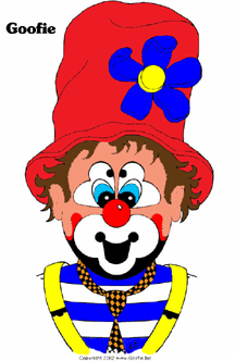 Goofie the MN clown coloring pictures